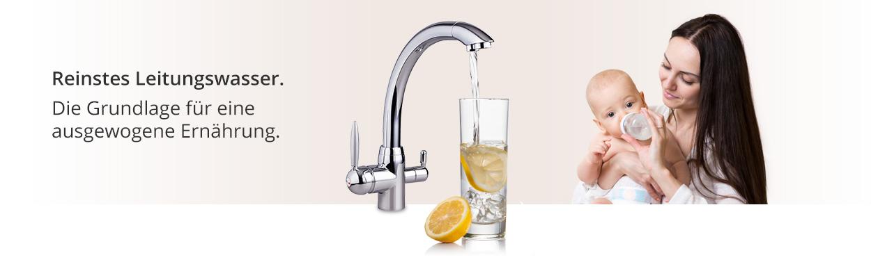 Reinstes Wasser ist die Grundlage für eine ausgewogene Ernaehrung