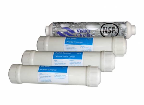 Filterset für Maxfeel Wasserfilter