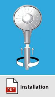 Einbauanleitung-Duschkopf-Produktbeschreibung