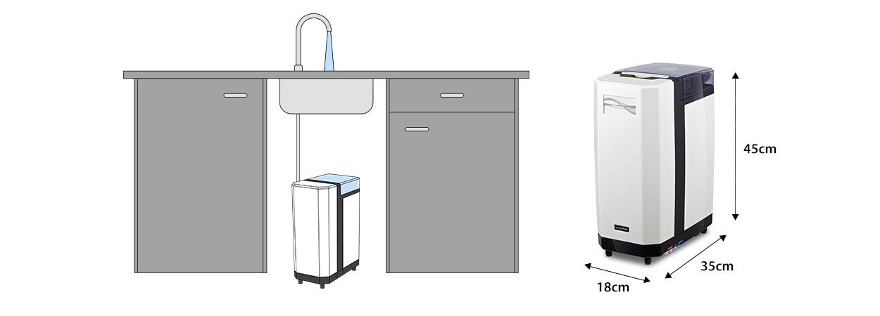 maße aquaflow illustration