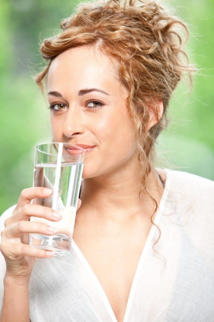 Wasser für die Haut