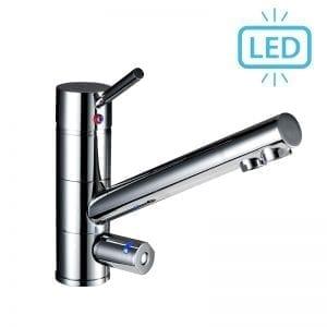 3 Wege Wasserhahn Japura LED