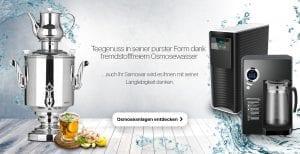 Osmosewasser für Samowar